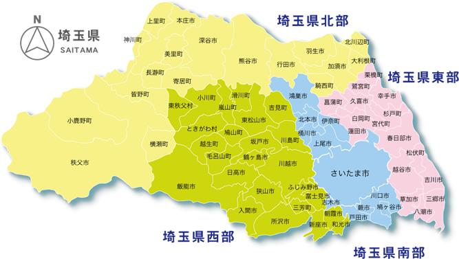 画像 : 埼玉県 地図画像集 - NAVER まとめ